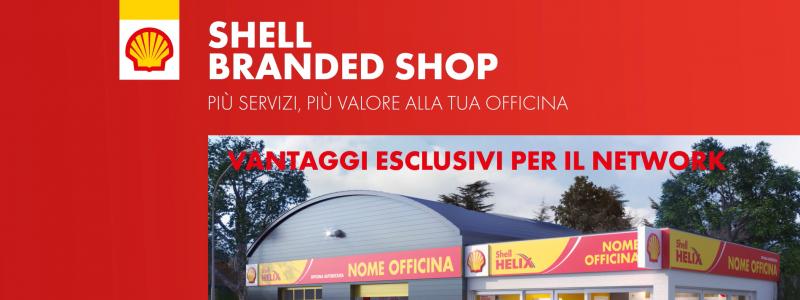 shell branded shop header